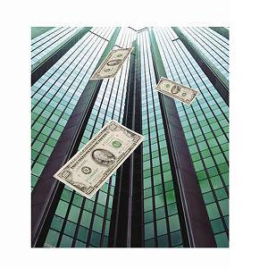 Edificio de dinero