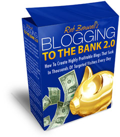 Blogging to the bank