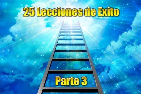 25 Lecciones de 25 Personas Exitosas – Parte 3