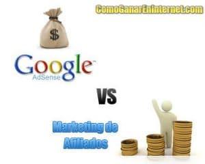 adsense vs afiliados