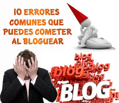 errores al bloguear