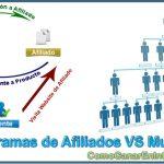 Diferencia Entre Programas de Afiliados y Multinivel